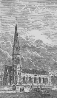 St Thomas' in the 1880's