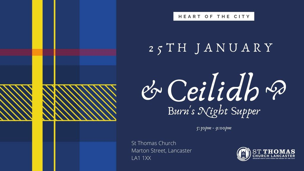 Celidh and burns night supper